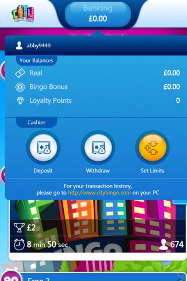 city bingo mobile play bingo with a 35 in your pocket
