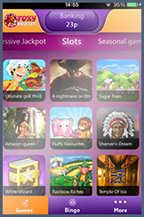 Find Exclusive Slots on Foxy Mobile Bingo