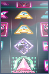 Neon Staxx slot - one of the great titles at Giant Bingo