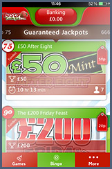 Guaranteed Jackpots on the Tasty Bingo App