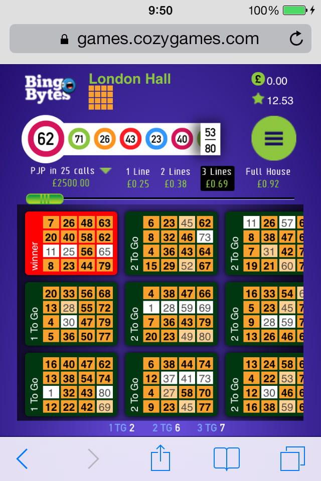Play Bingo On Mobile
