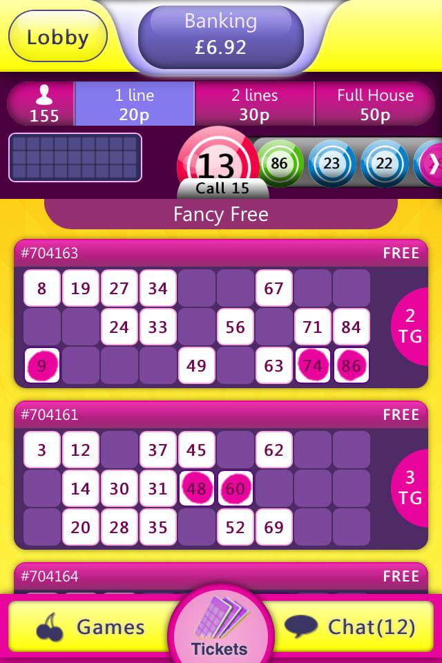 Mobile Bingo Apps