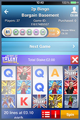Play Slots on the WilliamHill Bingo Mobile App