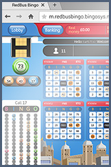 Playing a bingo game on your device