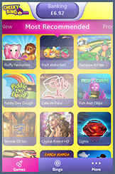 Popular Side Games Available on Cheeky Bingo Mobile