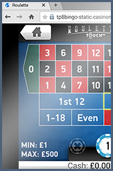 Roulette Touch especially for players on the go at Redbus