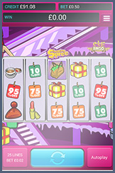 Shopping Spree, a tablet version of one of the top slots, Elf Bingo