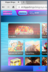 Slot and casino titles for phone players at Hippo
