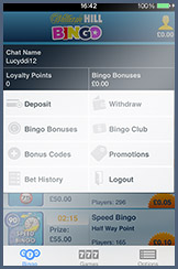 William Hill Mobile Bingo Banking Options