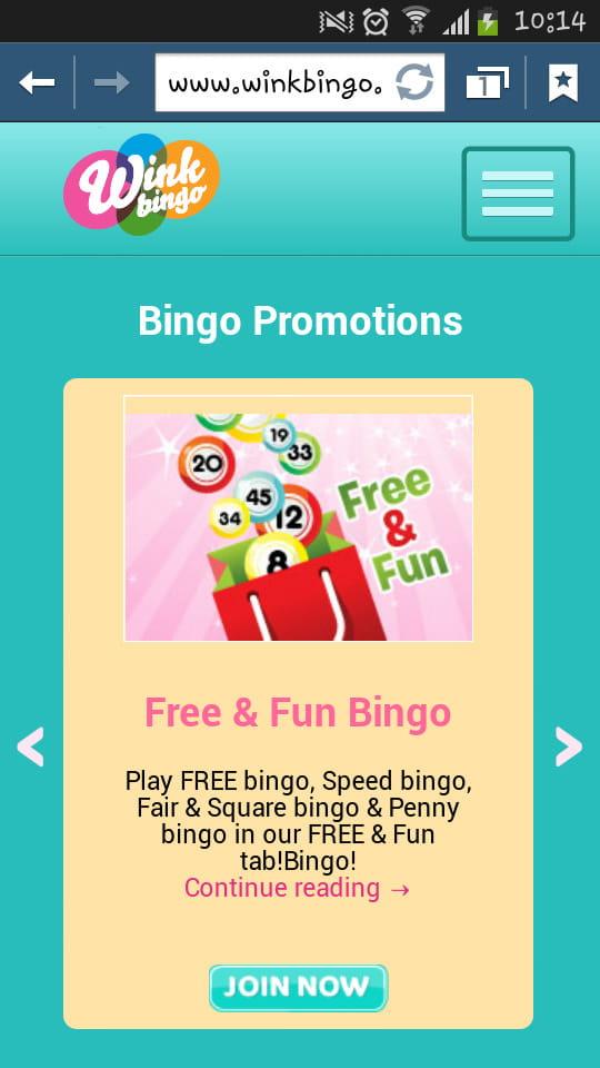 Wink Bingo